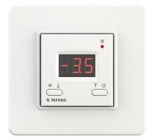 Терморегулятор terneo kt, рамка стандарт, белый