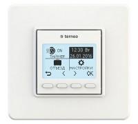 Терморегулятор terneo pro, рамка стандарт, белый