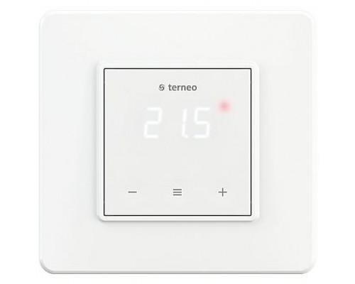Терморегулятор terneo s, рамка стандарт, белый