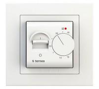 Терморегулятор terneo mex рамка unic, белый