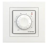 Терморегулятор terneo rtp, рамка unic, белый