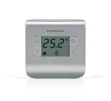 Электронный комнатный термостат CH111 Fantini Cosmi (+2°С до +40°С) серый