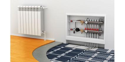 Что лучше - теплый пол или радиаторы отопления