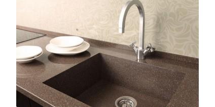 Чем хороша интегрированная раковина/мойка в ванной и на кухне?