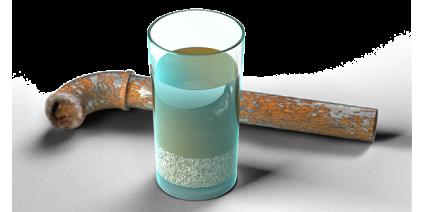 Очищение воды от железа