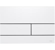 Клавиша смыва, TECE, TECEsquare, для унитаза, шгв 220*30*150, цвет-белый глянцевый
