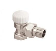 """Вентиль термостатический Elsen PN 1/2""""х1/2"""" ВН для отопительных приборов с боковой подводкой никелированный EVR06.3412"""