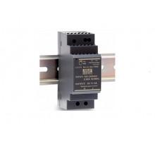 Компактный блок питания  с креплением на DIN–рейку, выходное напряжение 24В, максимальная выходная мощность 60 Вт