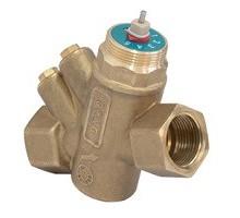 """Клапан Giacomini R206A 1/2"""", балансировочный комбинированный, R206AY053"""