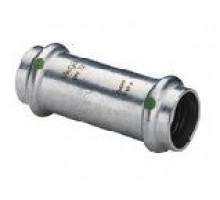 Муфта надвижная Sanpress Inox c CS-Contur, нерж.сталь, 28 мм, 436407