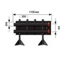 Распределительная гребенка на 2 контура, PN10 , мощность 280 Квт (ст.арт. ME 66457.0)