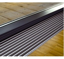 Решётка, DL 15, линейная, ширина, мм-260, длина, мм-2500, алюминий, цвет-натуральный