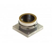 Пластина основания с нижним выпуском конденсата, диаметр, мм-200