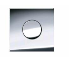 Клавиша смыва для писсуара, Geberit, Sigma 01, шгв 130*9*130, цвет-хром глянцевый