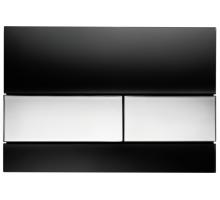 Клавиша смыва, TECE, TECEsquare, шгв 220*11*150, цвет-черный/хром