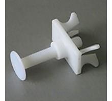 Нижний крепеж DS 15-60 мм, белый