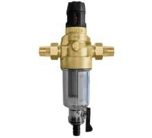 Фильтр промывной BWT Protector mini HWS C/R 3/4 Нар, для холодной воды с прямой промывкой и редуктором давления, 810549