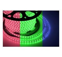 Лента светодиодная Neon-Night RGB LED 220В, 10х7 мм, IP65, SMD 3528, 60 LED/m 1 м, 142-609