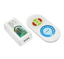 Диммер LED Neon-Night 85х45х22мм 144Вт 12-24В 2.4G IP20 одноканальный беспроводной с пультом Д/У, 143-103-3