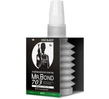 Анаэробный клей-герметик Pipal QS Mr.Bond 703 для уплотнения резьбовых соединений 75 г