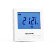 Проводной встраиваемый программируемый комнатный термостат TEPLOCOM TS-Prog-220/3A