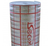 Подложка для тёплого пола, мультифольга, 3 мм. (рулон-30 м2) Isocom
