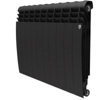 Биметаллический секционный радиатор Royal Thermo Biliner Noir Sable 500/10 секций, НС-1176307