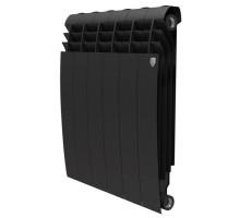 Биметаллический секционный радиатор Royal Thermo Biliner Noir Sable 500/6 секций, НС-1176312