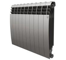 Биметаллический секционный радиатор Royal Thermo Biliner Satin Silver 500/10 секций, НС-1176315