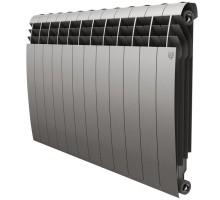 Биметаллический секционный радиатор Royal Thermo Biliner Satin Silver 500/12 секций, НС-1176316