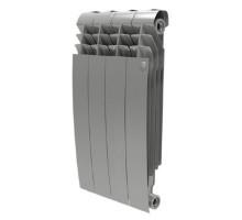 Биметаллический секционный радиатор Royal Thermo Biliner Satin Silver 500/4 секции, НС-1176317