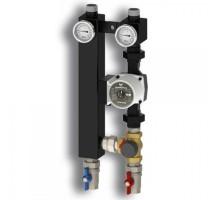 Насосная группа смесительная Север-S25/60 Tim до 70 кВт (с насосом, с 3-х ходовым смесительным клапаном, без сервомотора), 1925029tim