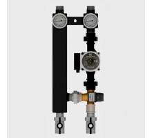 Насосная группа для теплых полов Север-TS25/60 Tim до 70 кВт, с насосом, с 3-х ходовым термостатическим клапаном, 1925078tim