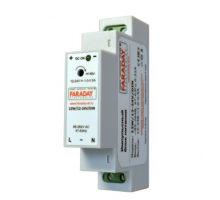 Блок питания с креплением на DIN рейку 12-24V, 12W для GSM термостатов и сигнализаций Zont