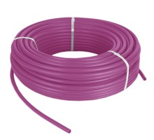 Труба PEX-b ф 20*2.8 Pink с кислородным барьером TIM TPEX2028-100 Pink, бухта 100 м