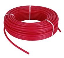 Труба PEX-b ф 16*2.0 Red с кислородным барьером TIM TPER 1620-100 Red, бухта 100 м