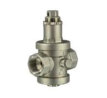 Редуктор давления под манометр TIM 1 1/2 Вн, никель, BL2806В