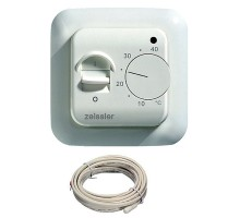Терморегулятор комнатный с датчиком температуры тёплого пола TIM M6.716