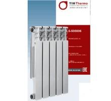 Радиатор алюминиевый TIM 80/500/8 секций, HAL5-500808 Optimum