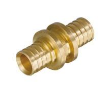 Муфта аксиальная TIM D=16, прямая, под зажимную гильзу, для PEX труб 2.2 мм, H-S1616