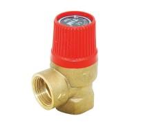 Мембранный предохранительный клапан TIM 1/2, 3/4 Вн, 3 бар, BL23FF-K-3