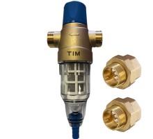 Фильтр с обратной промывкой TIM JH-2002R-3/4