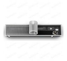 Конвектор, Qtherm, 230*75*1500, Vartronic тип 201115, роликовая решётка, алюминий, натуральный, рамка-U-образный профиль, 2226 Вт Varmann Q_230.75.1500 RR U EV1