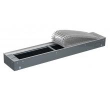 Конвектор, EKN, 240*120*1400, роликовая решётка, алюминий, натуральный, рамка-алюминий, 585 Вт ELSEN EKN.240.120.1400