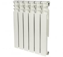 Биметаллический секционный радиатор Rommer Optima Bm 500 x6 секций
