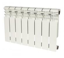 Биметаллический секционный радиатор Rommer Profi Bm 500 Bi 500-80-150 x8 секций