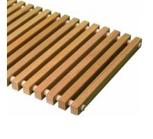 Решетка КЗТО БРИЗ Дуб, бук или береза с лаковым покрытием 200x1000-10