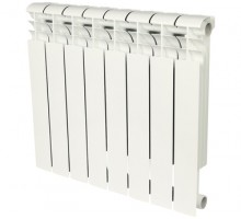 Биметаллический секционный радиатор Rommer Profi Bm 350 Bi 350-80-150 x10 секций