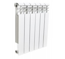 Алюминиевый секционный радиатор Rommer Profi 500 AL 500-80-100 x6 секций