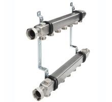 Коллектор TECE для систем отопления без вентилей 1х3/4ЕК 10 контуров, квадратное сечение